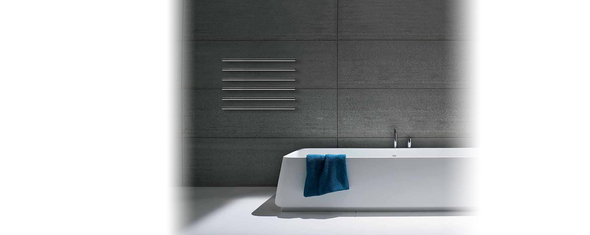 toalheiro eléctrico minimalista MTUBE